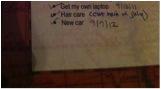 My 2012 Goal List