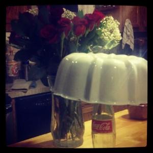 Bundt Cake & Roses