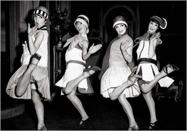 Flappers Dancin' The Charleston