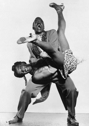 African American Jazz Swing Dancers Images