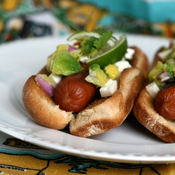 Mexican hotdogs