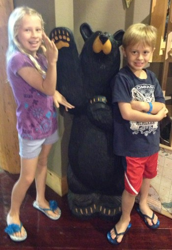 High Fives for The Great Wolf Lodge!