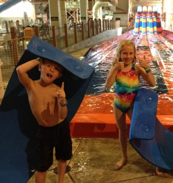 Water Slides get a Thumbs Up!