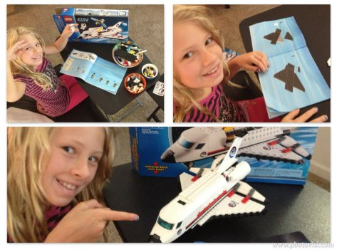 Our Lego Space Shuttle