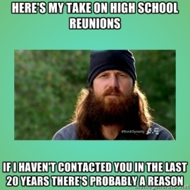 Jase Robertson on High School Reunions-1