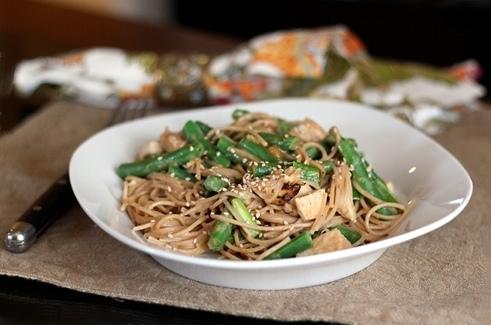Thai Spaghetti Toss
