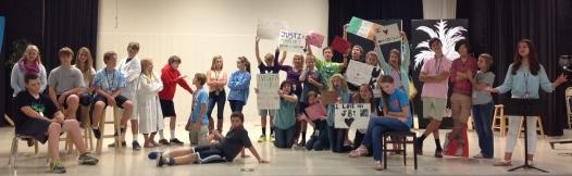 8th Grade Cast