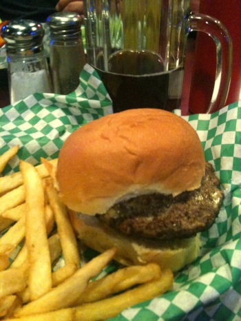 Juicy Lucy whole