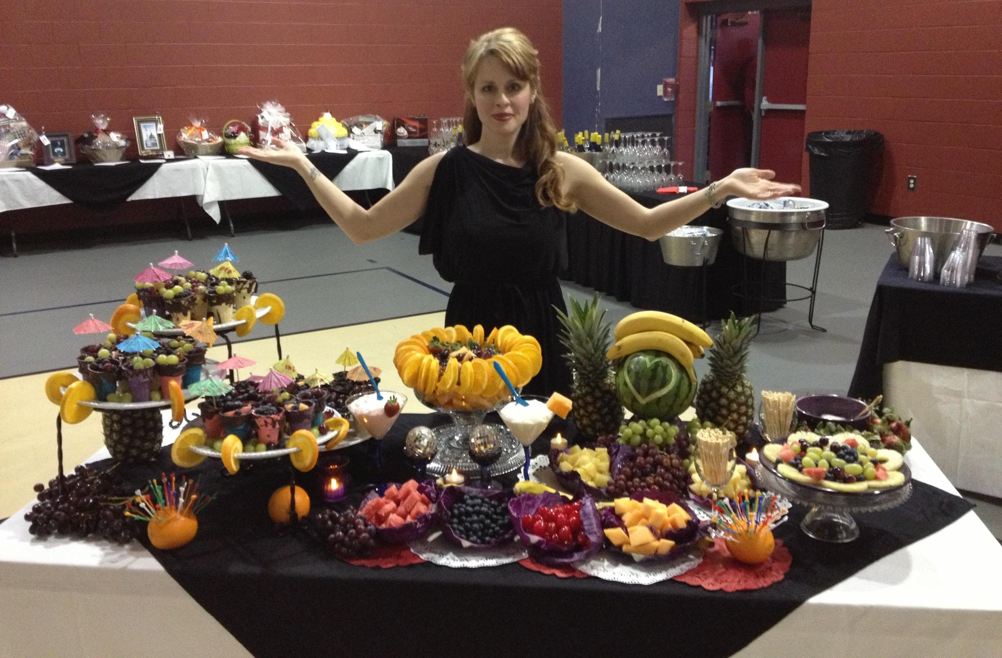 Table Display Ideas littlemissmillie Fruit Table And Me