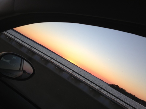 The Lake Murray Dam Sunset