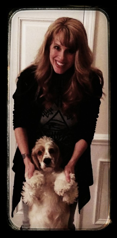 2014 Shannon & her current cocker, Monte
