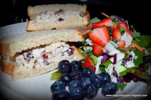 Chicken salad sammy