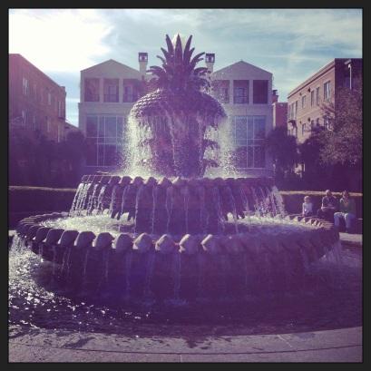 The Pineapple Fountain, Charleston, SC