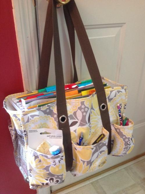 Homeschool bag