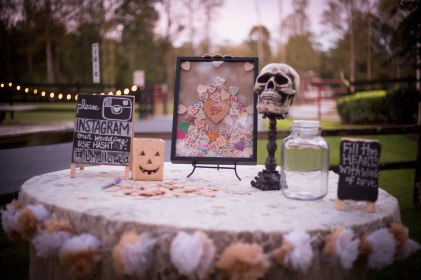 Halloween wedding