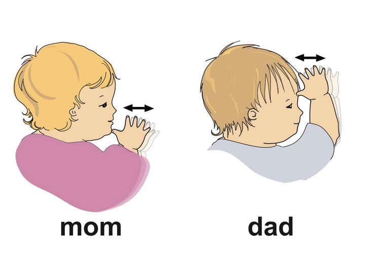 how to say thank you in baby sign language