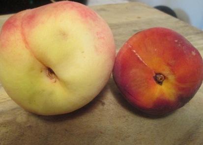 peach comparison