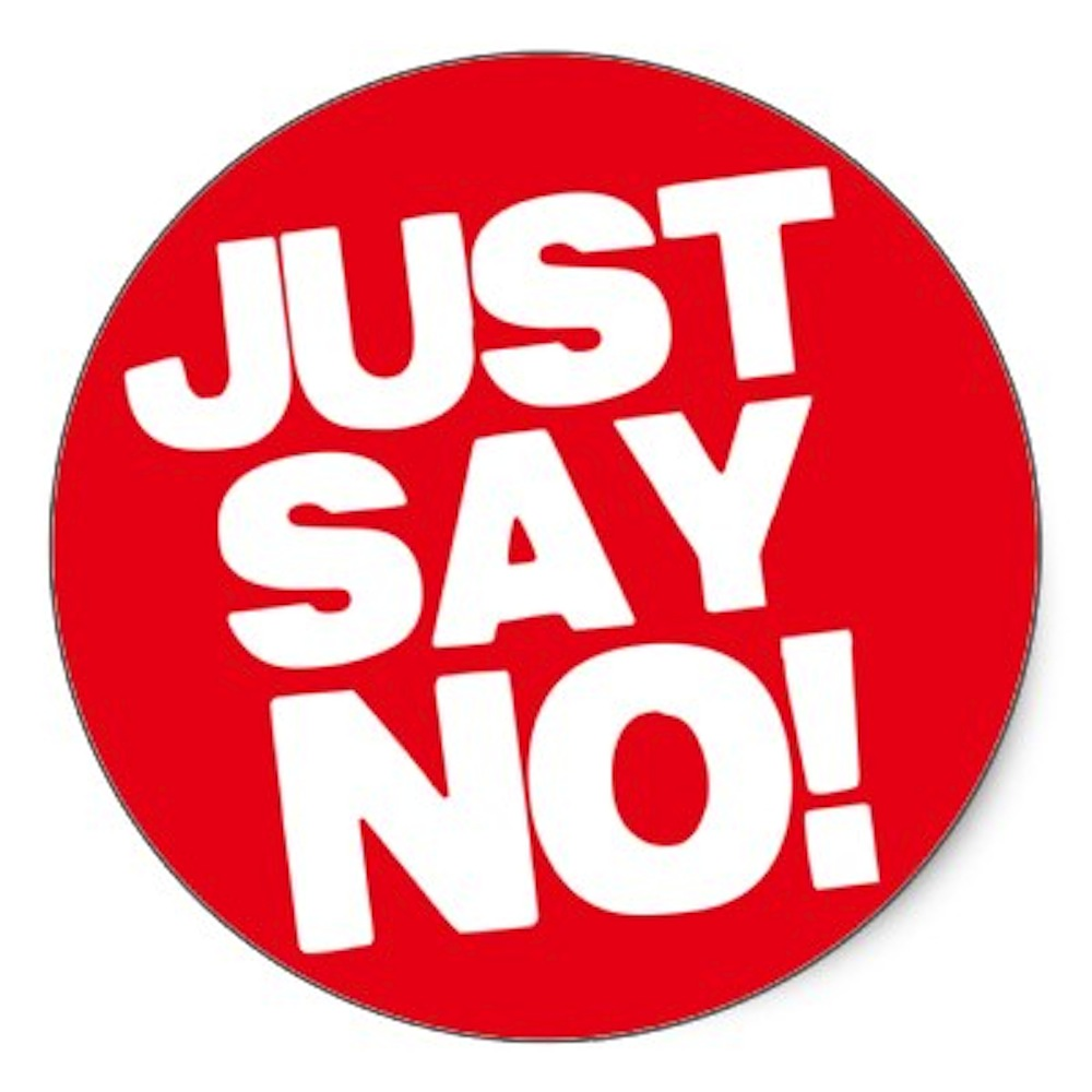 Image result for images of just say no