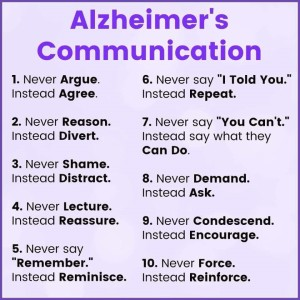 dementia tips