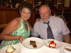 Anniversary Cruise and Desserts