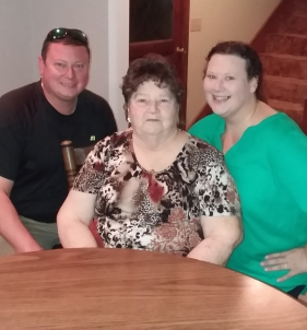 Youngest Son and Daughter with Granny