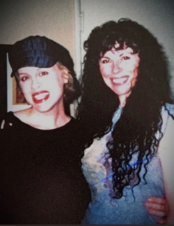 Shannon with her friend Tammy Hunt