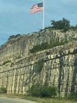 rocky wall w flag (p2)